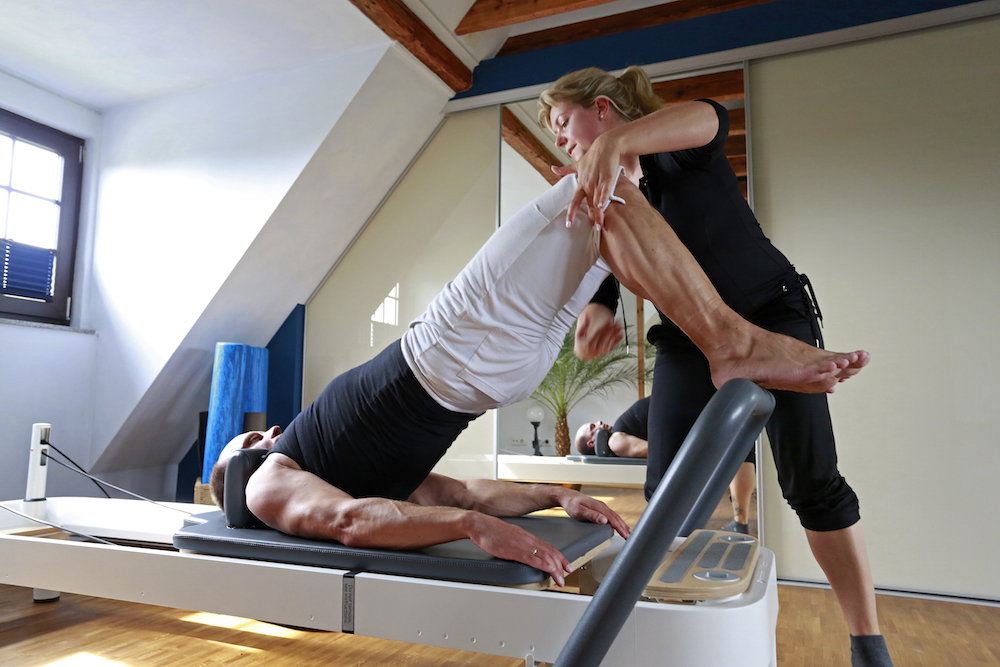 Pilates am Allegro Reformer
