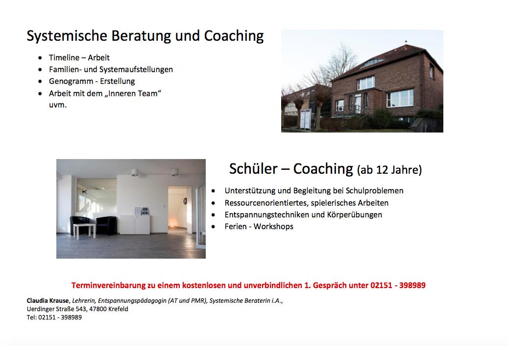 Systemische Beratung und Coaching