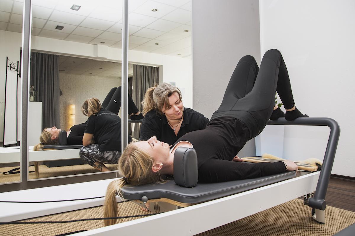 Pilates am Allegro Reformer
